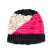 Go to Product: Caron Crochet Colorblock Hat in color