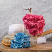 Red Heart Scrubby Bath Poufs