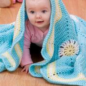 Red Heart Hexagon Baby Blanket