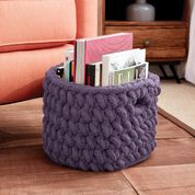 Go to Product: Bernat Burly Crochet Basket in color