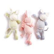 Bernat Knit Zebra, Soft Fern