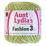 Go to Product: Aunt Lydia's Fashion Crochet Thread Size 3 in color Lime Ombre