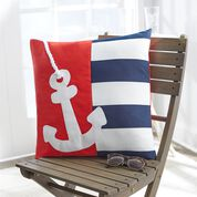 Go to Product: Coats & Clark Nautical Anchor Patio Pillow in color