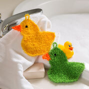 Go to Product: Red Heart Rubber Duckie Scrubby in color