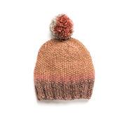 Caron Linen Stitch Knit Hat