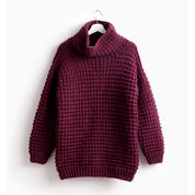Bernat Easy-Going Knit Pullover, XS/S