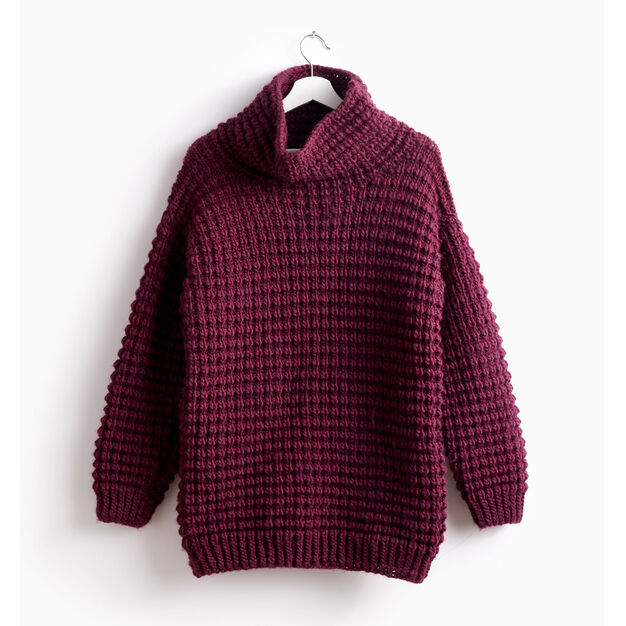 1391846f1 Bernat Easy-Going Knit Pullover