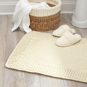 Red Heart Home Spa Bath Mat, Single Vanity