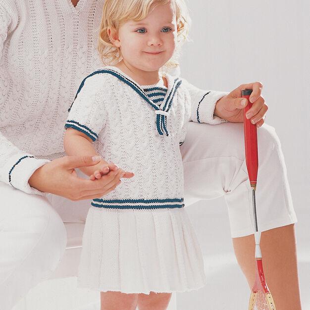 Patons Sailor Dress, 12 mos
