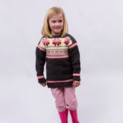Go to Product: Red Heart Girls Fair Isle Tunic, 4 yrs in color