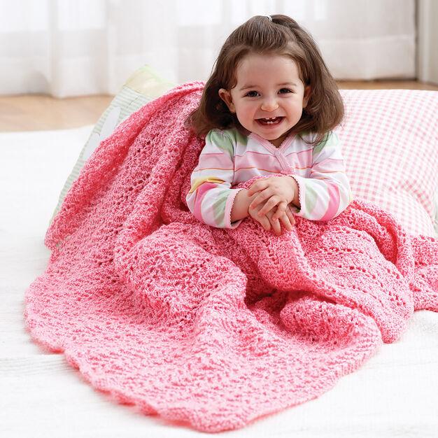 Bernat Knit Blanket