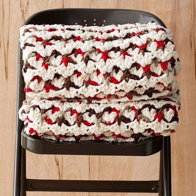 Bernat Puffy Stitch Blanket