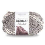 Go to Product: Bernat Blanket Yarn (300g/10.5 oz) in color Silver Steel