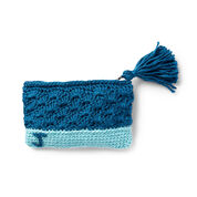 Go to Product: Bernat Monogram Crochet Pouch, Version 2 in color