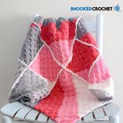 Bernat Geometric Crochet Baby Blanket