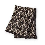 Bernat Trellis Crochet Blanket