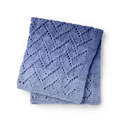 Bernat Garden Wall Knit Blanket