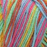 Red Heart Super Saver Pooling Yarn, Papaya in color Papaya Pooling Thumbnail Main Image 2}