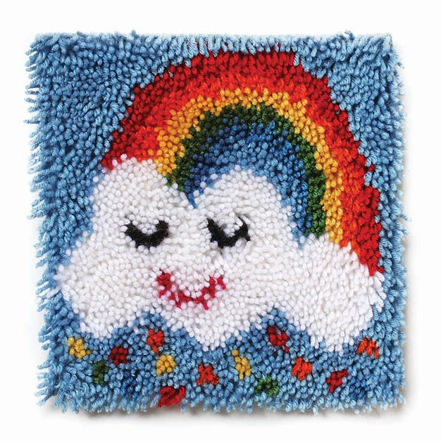 Wonderart Rainbow Sprinkles 12 X 12 in color Rainbow Sprinkles