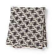 Go to Product: Bernat Mosaic Grid Knit Blanket in color