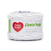 Go to Product: Red Heart Fleece Hugs Yarn in color Peaceful Plum