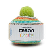 Go to Product: Caron Cupcakes Yarn in color Tangerine Dream