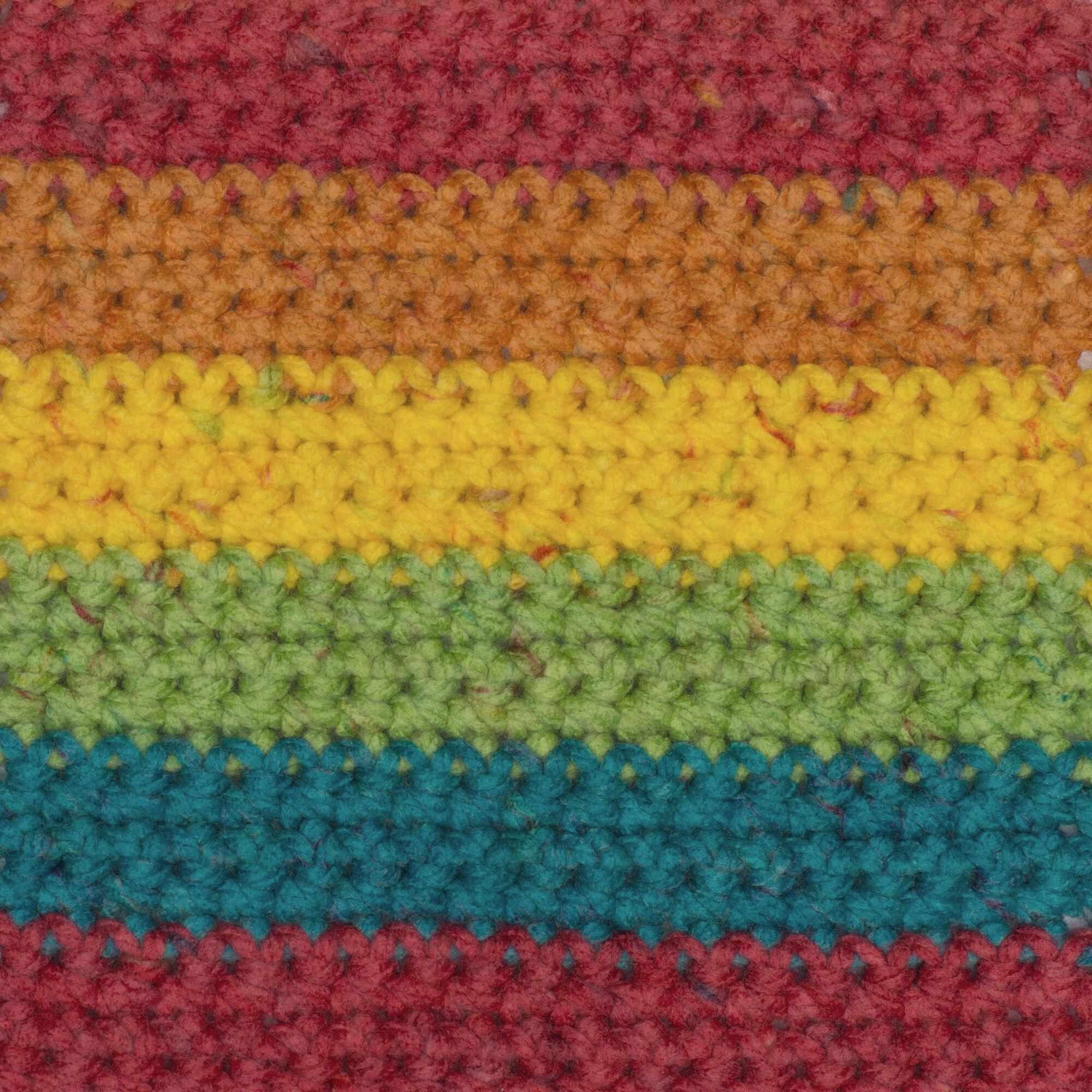Macram\u00e9 Cord Knitting 3.5 oz Birthday Cake Multicolor Ice Cream Yarn Crocheting Acrylic Yarn Thread Twine; 394 yd