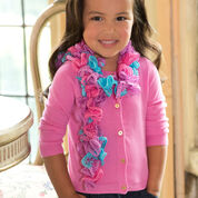 Go to Product: Red Heart Girlie Ruffle Scarf in color