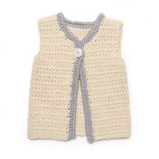 Go to Product: Red Heart Classic Baby Vest, 6 mos in color