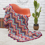 Go to Product: Red Heart Throw-back Granny Chevron in color