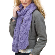 Go to Product: Caron Reversible Cable Rib Scarf in color