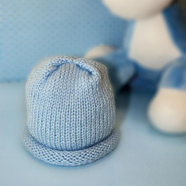 Bernat Preemie Hat in color