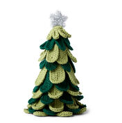 Go to Product: Red Heart Make it Merry Crochet Tree in color
