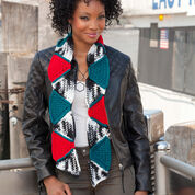 Go to Product: Red Heart Geometric Triangles Scarf in color