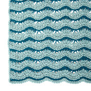 Go to Product: Red Heart Wistful Waves Lapghan or Throw, Lapghan in color