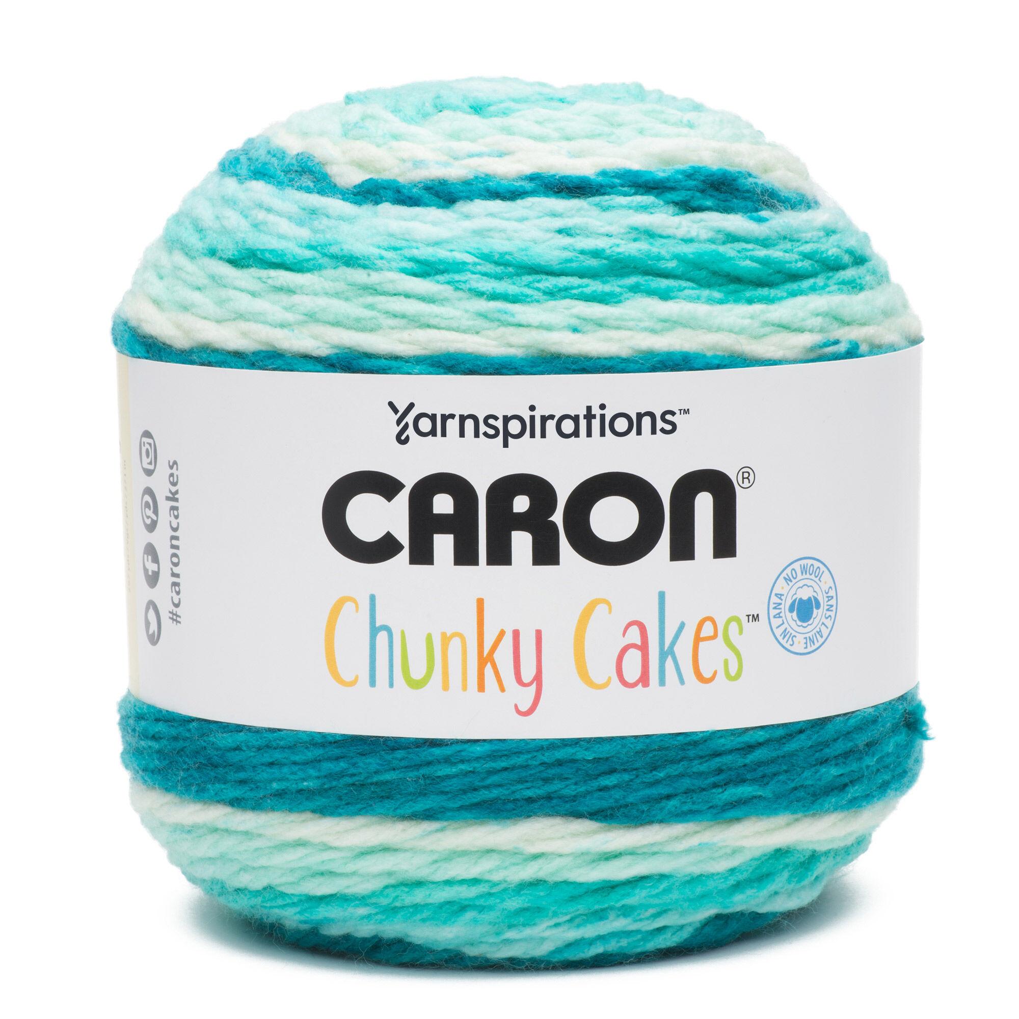 Caron Chunky Cakes Yarn, Blue Moon | Yarnspirations