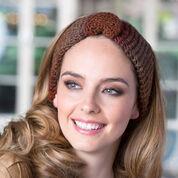 Red Heart Buttoned Crochet Headband