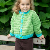 Red Heart Fun Time Cardigan, 2 yrs
