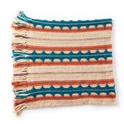 Caron Southwest Stripe Crochet Blanket