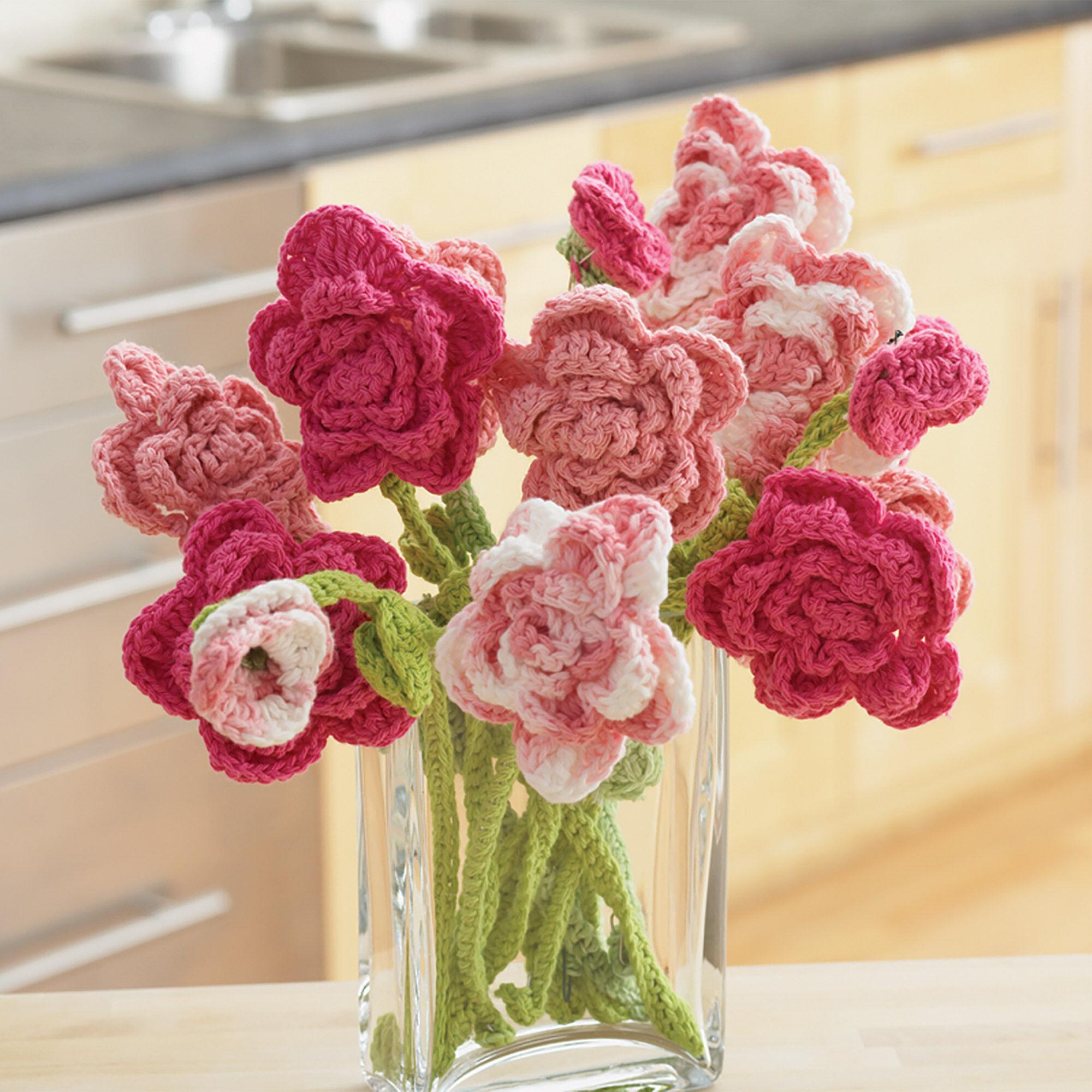 Lily sugarn cream rose bouquet yarnspirations lily sugar39n cream rose bouquet izmirmasajfo