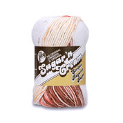 Go to Product: Lily Sugar'n Cream Stripes Yarn, Natural Stripes in color Natural Stripes