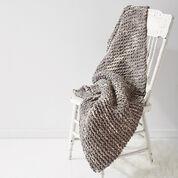 Bernat Cushy Garter Blanket