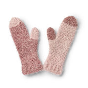 Go to Product: Caron Cozy Crochet Mittens in color