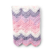 Bernat Sleepy Valley Crochet Baby Blanket