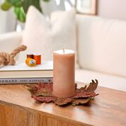 Go to Product: Dual Duty Fall Centerpiece Candle Mat Centerpiece in color