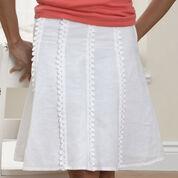 Patons Vertical Edging for Skirt