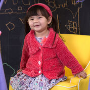 Go to Product: Red Heart Jenny's Jacket & Headband, 2 yrs in color