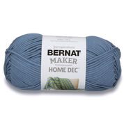Go to Product: Bernat Maker Home Dec Yarn in color Steel Blue