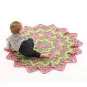 Go to Product: Red Heart Sunburst Baby Blanket in color