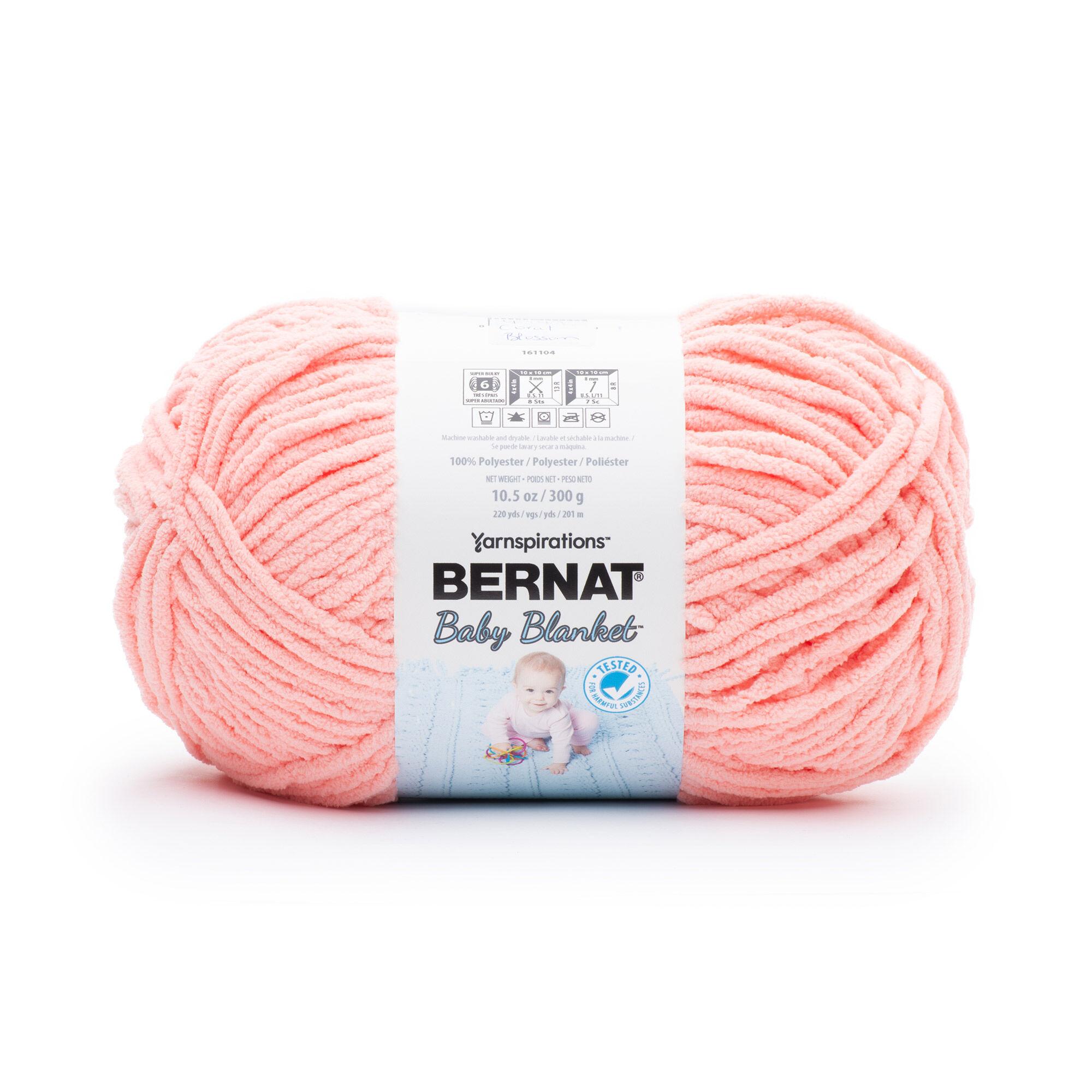 NWT Bernat Baby Blanket Tiny Yarn Wishing Well Polyester 4-Medium Worsted 3.5oz